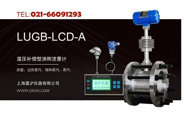 LUGB-A温压补偿型型涡街流量计-上海嘉沪