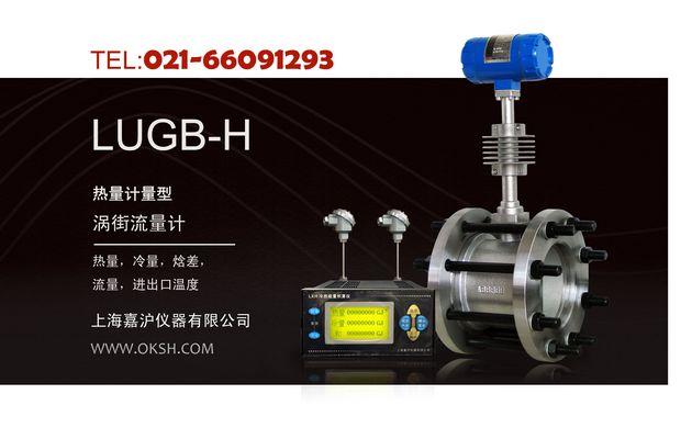 LUGB-H冷热量计量型涡街流量计-上海嘉沪